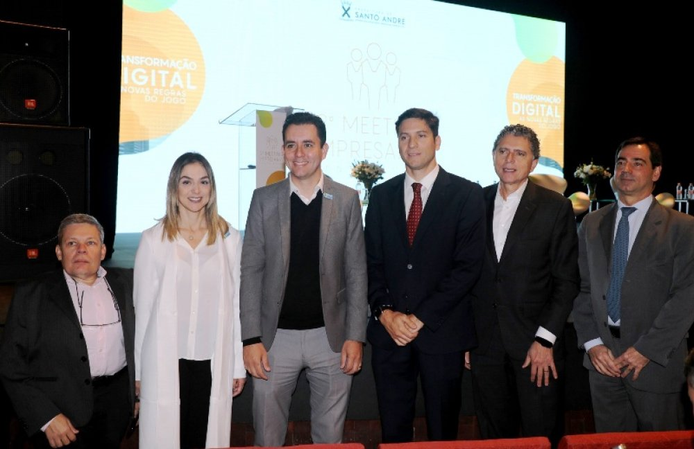 Santo André debate era digital em 'Meeting Empresarial'